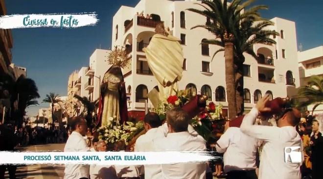 02/04 Eivissa en Festes – Processó Setmana Santa a Santa Eulària