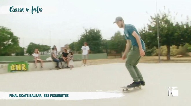 28/05 Eivissa en Festes: Final Skate Balear a Ses Figueretes
