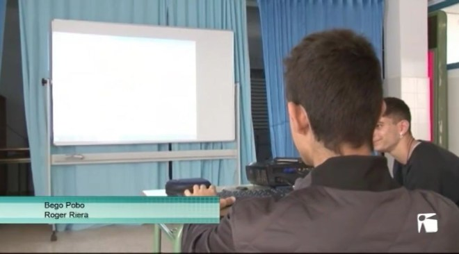 24/05  Alumnes de FP bàsica de Sa Colomina posen en pràctica els seus coneixements informàtics i empresarials.