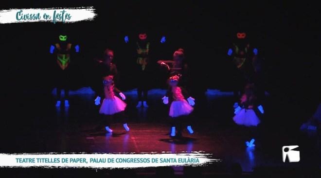 21/05 Eivissa en festes – Teatre de titelles de paper a es palau de congressos de Santa Eulària