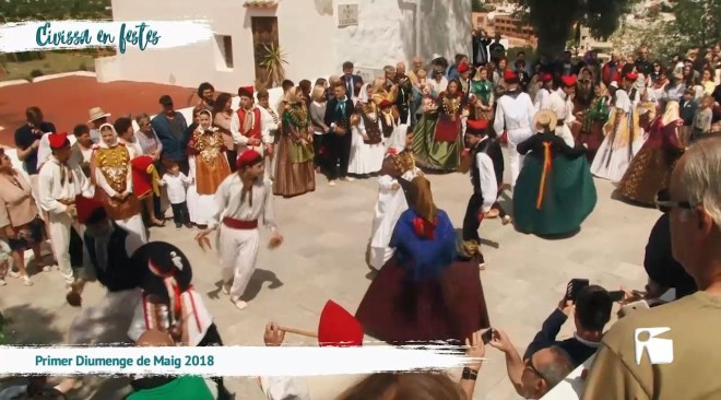 07/05 Eivissa en Festes - Primer Diumenge de Maig 2018