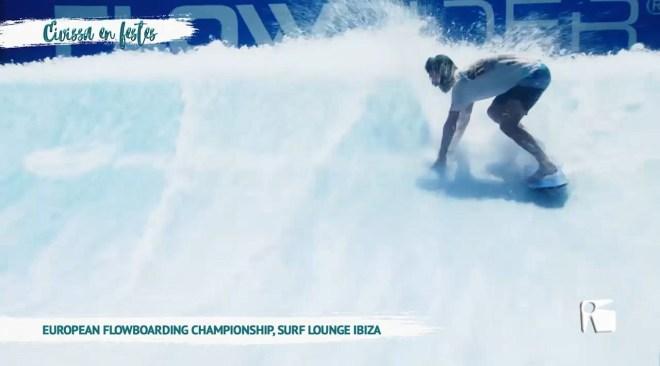 18/06 Eivissa en Festes: Flowboarding Surf Lounge