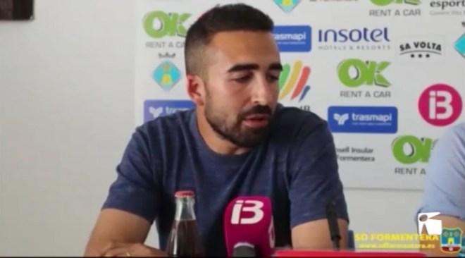 18/06 El Formentera presenta el nou entrenador Iván Gómez Roa
