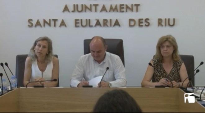 28/06 Santa Eulària aprova per unanimitat reclamar a Abaqua una intervenció urgent a la depuradora