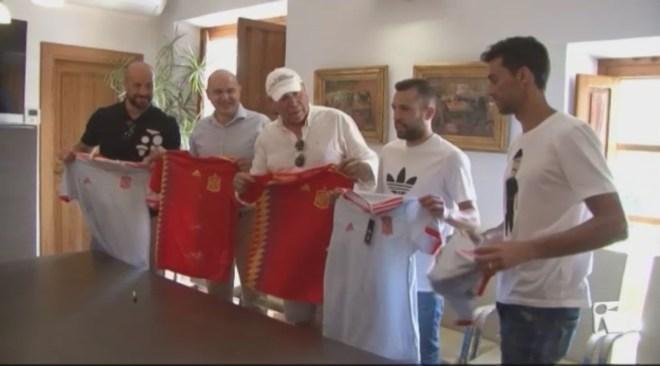 11/07 Pepe Reina i Jordi Alba, a Santa Eulària