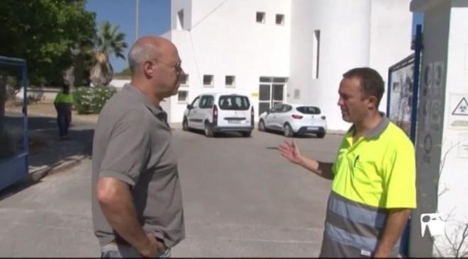 17/07 Els treballadors de les depuradores de Vila, Sant Antoni i Cala Tarida