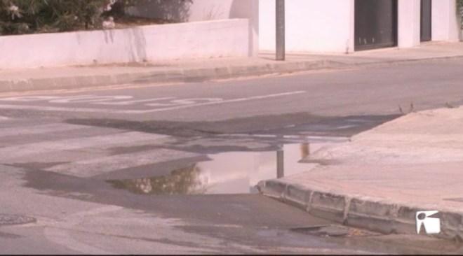 18/07 La canonada de l'Avinguda Sant Agustí es torna a trencar