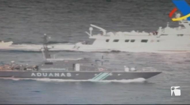 20/08 Interceptat un vaixell amb 300 quilos de cocaïna en aigües eivissenques