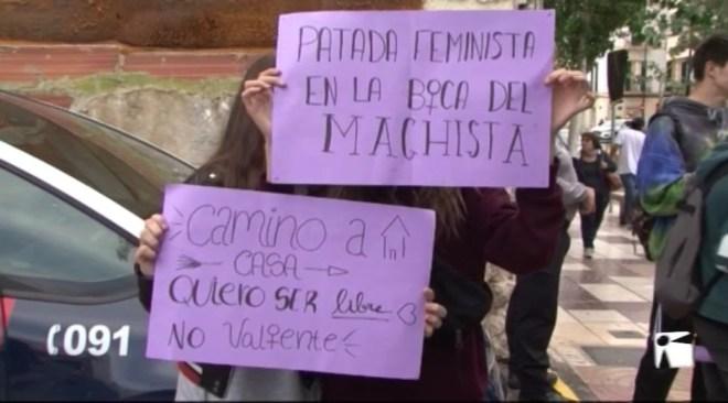 14/11 Vaga contra el sexisme a les aules