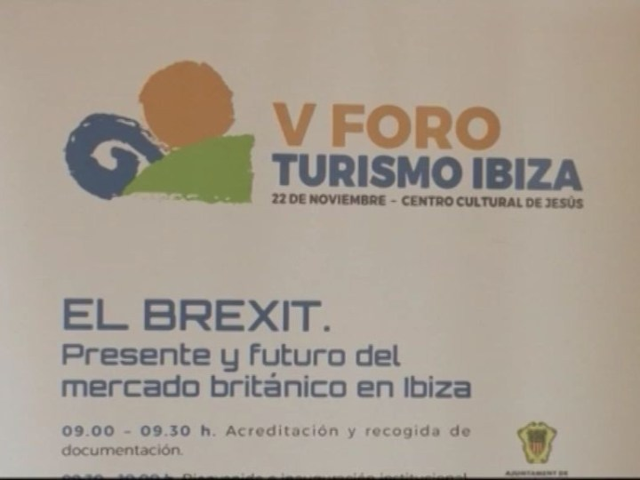 22/11 El Brexit al V Fòrum de Turisme d'Eivissa