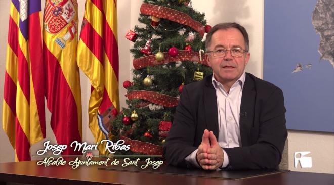 Josep Marí Ribas – Missatge de Nadal 2018