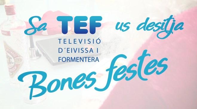Sa TEF us desitja Bones Festes!
