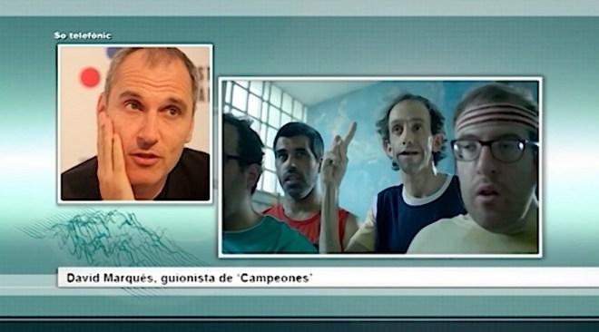 04/02 Tres Goyas per a 'Campeones'
