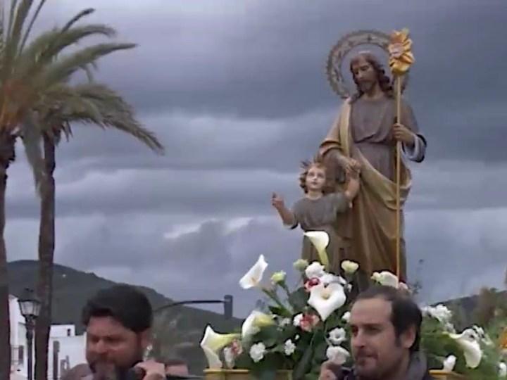 19/03/2019 La pluja respecta el dia gran de Sant Josep