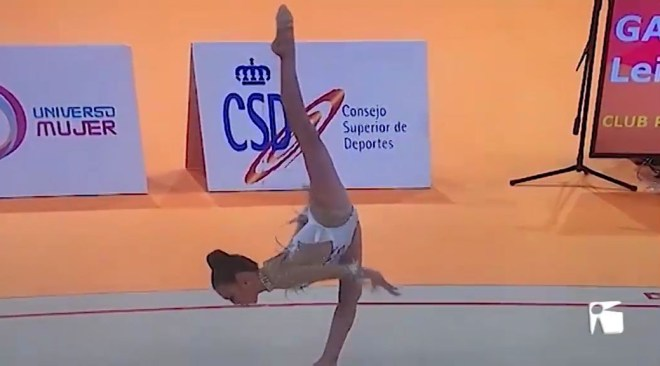 03/04/2019 Leire García guanya l'or al Campionat d'Espanya