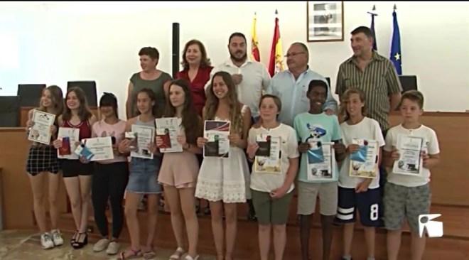 26/06/2019 Sant Joan ha premiat als estudiants amb millor expedient acadèmic