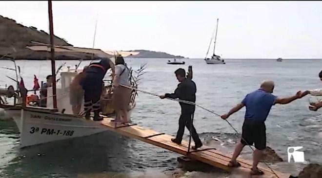 15/07/2019 Es Cubells celebra la tradicional processó marinera