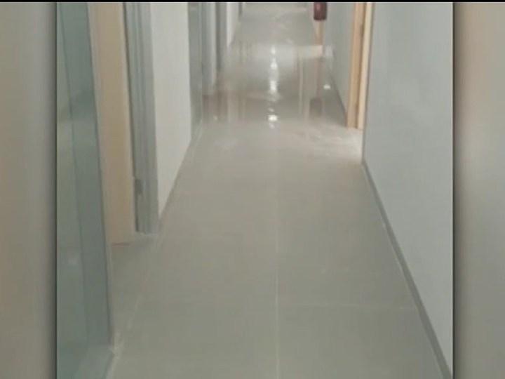 27/08/2019 S'inunda el soterrani de la nova seu judicial abans de ser inaugurada