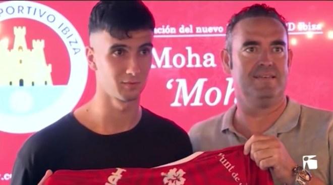 29/08/2019 Moha és el darrer fitxatge del CD Eivissa
