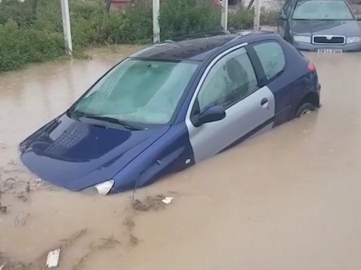27/08/2019 Tempesta a les Pitiüses: inundacions, embussos i vols cancel·lats