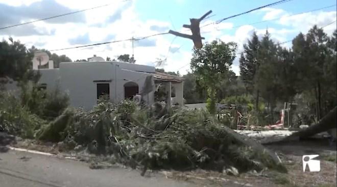 24/10/2019 El Consell d'Eivissa demana la situació d'emergència