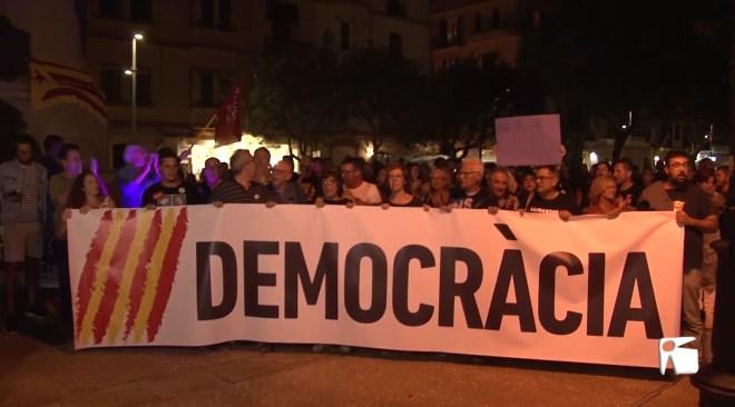 15/10/2019 Protestes per les condemnes del 'procès' a les Pitiüses