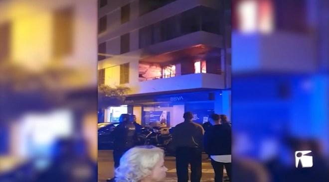 28/10/2019 Una trentena de desallotjats per un incendi a Vila