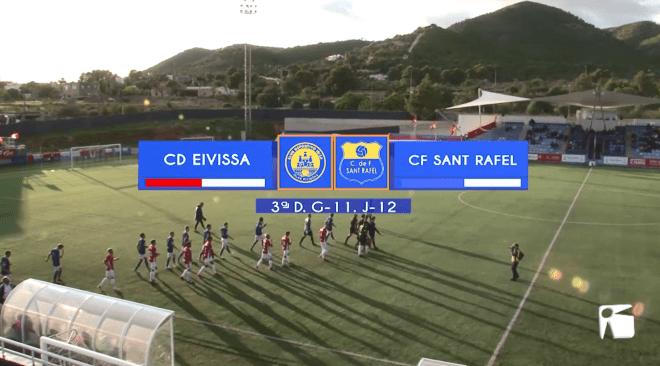 10/11 Futbol: CD Ibiza – CF Sant Rafel