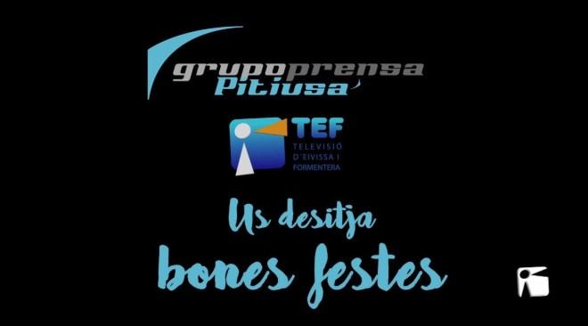 Grupo Prensa Pitiusa us desitja Bones Festes!