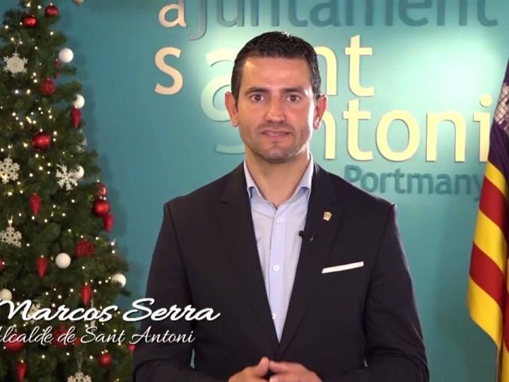 Missatge de Nadal 2019 de Marcos Serra, alcalde de Sant Antoni