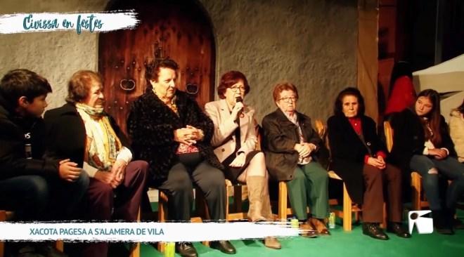 28/12/2019 Eivissa en Festes - Xacota pagesa a s'Alamera de Vila