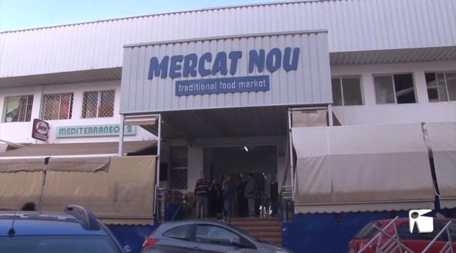 29/01/2020 El nou Mercat Nou, estancat