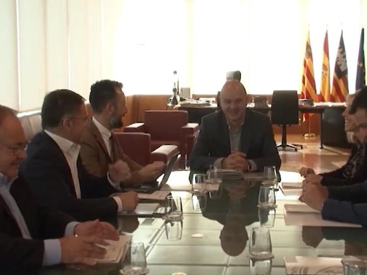 07/01/2020 Primer consell d'alcaldes, primer desacord