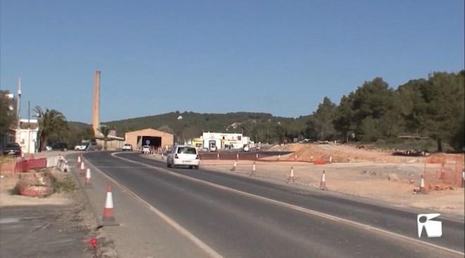 10/02/2020 La carretera de Santa Eulària només està executada en un 51%