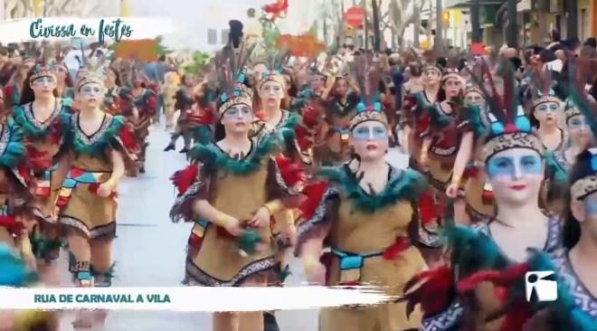 23/02/2020 Eivissa en Festes - Rua de carnaval a Vila
