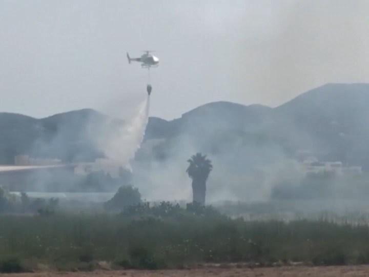 02/06/2020 50 desallotjats per un incendi a Sant Antoni