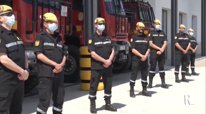 02/06/2020 Els soldats de l'UME ja són aquí