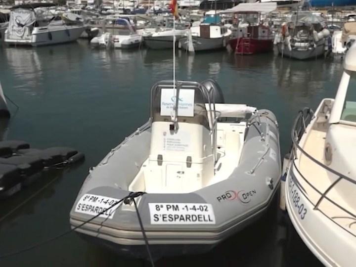 30/07/2020 Una barca per controlar la pesca furtiva a Tagomago