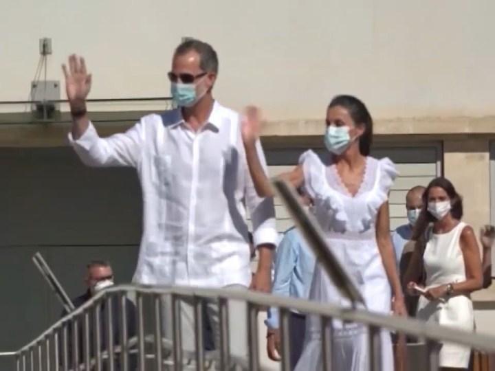 17/08/2020 Primera visita reial a Eivissa en 26 anys