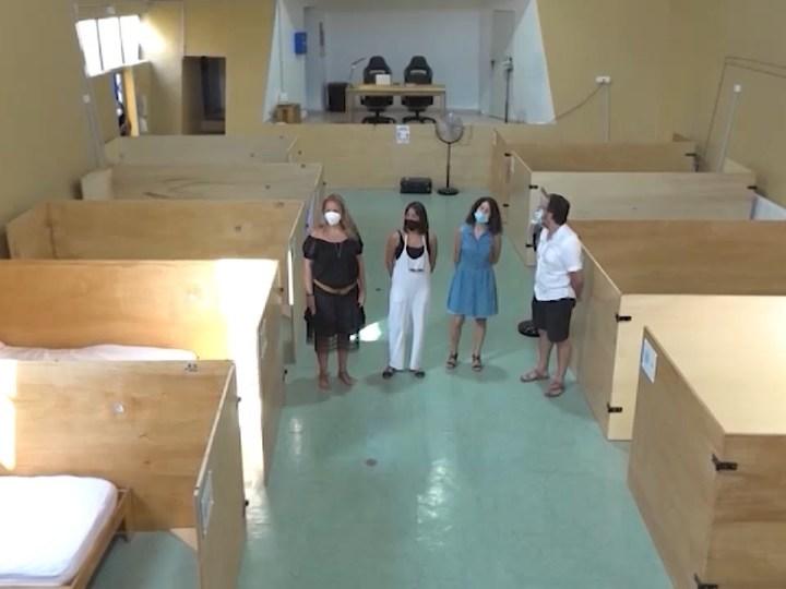 26/08/2020 Els 'sense sostre' tenen un lloc on dormir a Vila