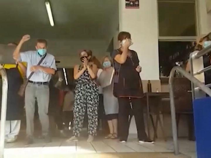 22/09/2020 Protestes al Mercat Nou de Vila