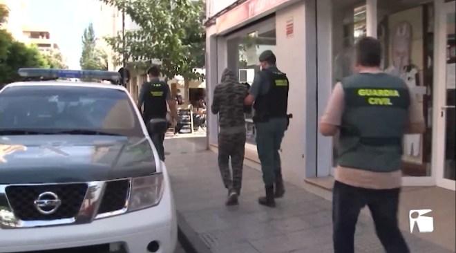 30/09/2020 Dos detinguts en una operació antidroga