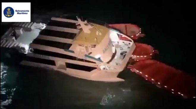 07/10/2020 Accident marítim sense ferits