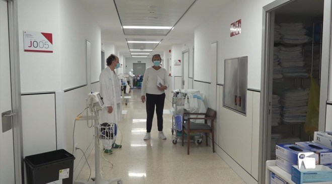 26/11/2020 Cures, afecte i companyia pels pacients de coronavirus més majors