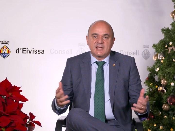 24/12/2020 Missatge de Nadal del Consell d'Eivissa