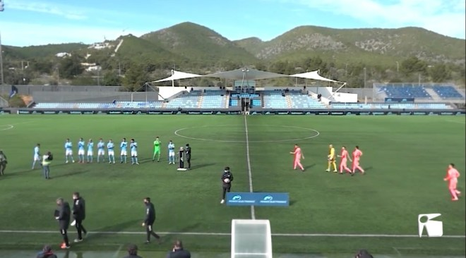 01/02/2021 L'UD Eivissa pateix la primera derrota