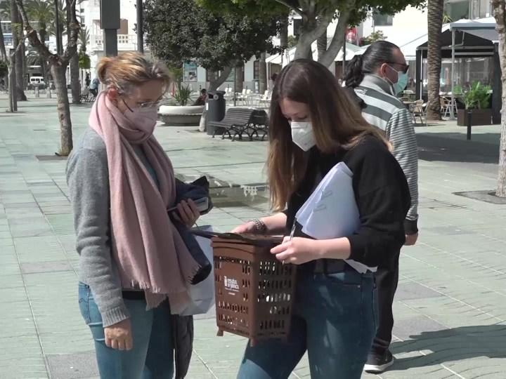 24/03/2021 El contenidor marró arriba a Sant Antoni