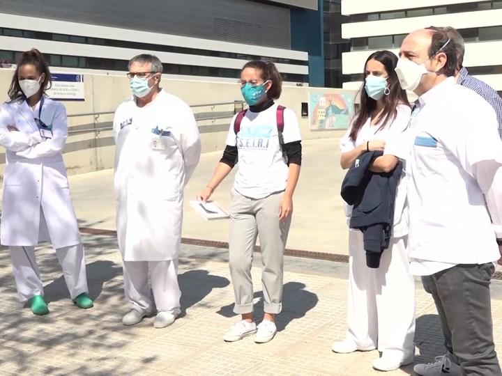 24/03/2021 Els sanitaris d'Eivissa, indignats davant la passivitat del Govern