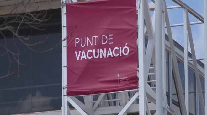 31/03/2021 El ritme de vacunacions al Recinte Firal encara no és massiu