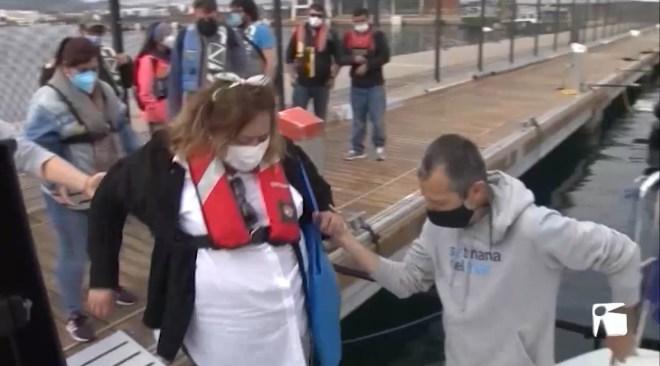 21/04/2021 Els al·lots d'APFEM gaudeixen de la Setmana de la Mar